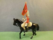 Vintage 1984 Royal vida Guardia Britains en el caballo de metal soldado de juguete 1:32