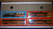 HO IHC MILWAUKEE RD. 4-6-4  PACIFIC TRAIN SET W/RIVAROSSI PASS. CARS # RR-940-MR