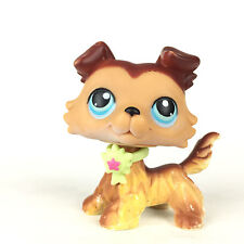 Authentic Littlest Pet Shop 58 Variant Colley Dog / Chien Collie LPS Hasbro