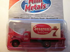"CMW (HO 1:87) 1941-46 Chevy ""Seagram' 7"" Box Truck #30362  New Release!"