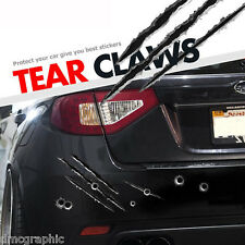 Decorative Fake Tear Claws Funny Car Window Sticker Decal Vinyl Body Panel