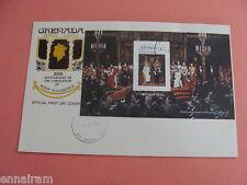 Queen Elizabeth II Silver Jubilee FDC 25 Coronation Grenada 1978 #6