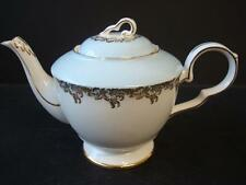ROYAL STAFFORD  POWDER BLUE AND GILT TEAPOT HOLDS ONE PINT