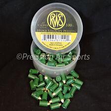 RWS HYPER VELOCITY, .22 cal 11.0gr Pointed - 100 lead-free air gun pellets
