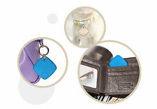 Bluetooth Tracker Child Bag Wallet Key Pet Smart Finder GPS Locator Alarm Blue