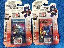 Lot of 2 Transformers Figurines & 3D Puzzles - Megatron & Optimus Prime  NEW (B)