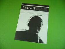 406KA2 Alter 60er Jahre Prospekt, leaflet, Brochure: Ford CONSUL corsair digest