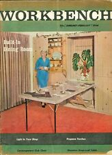1964 Workbench Magazine: Built in Dining Room/Sheraton Drop-Leaf Table/Chair