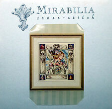NEW Mirabilia Cross Stitch Chart. MD10  Elizabeth and the Lavender Sky