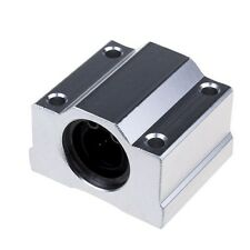 SCS25UU 25mm Linear Motion Ball Bearing Slide Unit Bushing Close Type for CNC