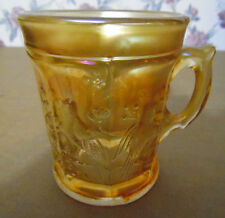 Vintage Northwood Marigold Singing Birds Mug Cup Non-Stippled