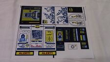 +++ Lego - Heroes Batman THE BATCAVE #6860 OEM STICKERS STICKER SET SHEET NEW