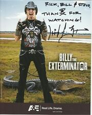BILLY THE EXTERMINATOR Autographed Signed Photograph - To Rick, Bill & Steve