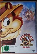 Disney Chip N' Dale Rescue Rangers Volume 1 Region 4 DVD VGC