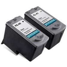 2 Pack Canon PG-40 CL-41 Ink Cartridge for PIXMA iP1600 iP1700 iP1800 iP2600