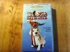 Usado Película 102 DÁLMATAS  Walt Disney -VHS - Item For Collectors