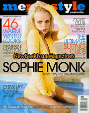 Australian Men's Style 4/08,Sophie Monk,April 2008,NEW