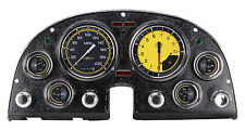 classic instruments chevy corvette 63-67 package autocross series yellow co67axy