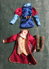 assorted Prince Barbie Doll Ken's Outfit pieces and Boots