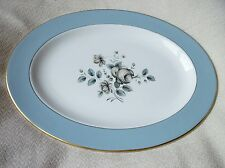 ELEGANT GILDED OVAL PLATTER ROYAL DOULTON ROSE ELEGANS TC1010 13""
