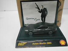 ASTON MARTIN DBS 007 QUANTUM OF SOLACE JAMES BOND SHELL 1/64