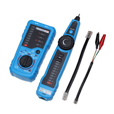 Handheld RJ45 RJ11 Network Wire Tracker Telephone Cable Ethernet line Tester Top