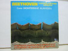 """Beethoven - Canciones Populares Españolas - HOMENAJE - RARO - 10"""" - VG+/EX+"""