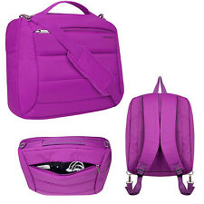 Women Girls Laptop 3in1 Nylon Sleeve Shoulder Backpack Bag for Macbook PRO 15.4""