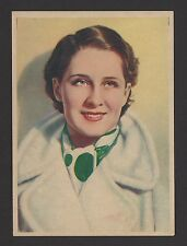 "Norma Shearer 1936 Nestle Stars of the Silver Screen Card #2 4""x6"""