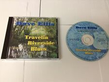 DAVE ELLIS TRAVELLIN RIVERSIDE BLUES RARE PRESS CD