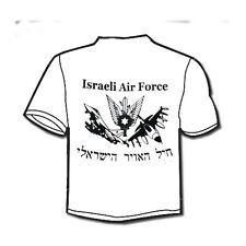 Israeli army IDF Air Force Air Space Arm IAF Military Symbol Jets printed T-Shir