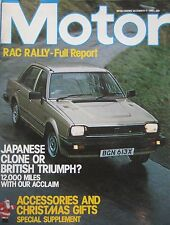 Motor magazine 4/12/1982 featuring SAAB Turbo road test, Koenig Ferrari 308