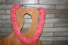 """Jay King 21""""pink coral Necklace & matching Earrings .925 Sterling *REDUCED $80*"""