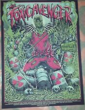 The Toxic Avenger - Rare Limited Edition Screen Print by godmachine nt Mondo