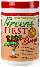 Greens First Berry,  10.16 ounce, Gluten Free, New Sealed Energy Drink