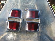 1967 Ford Fairlane 500 XL GT Taillights