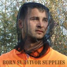 Ultimate Survival NO-SEE-UM MOSQUITO INSECT HEAD NET - Camping Travel Bug Hat