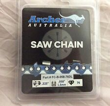 """20"""" Chainsaw Chain .325 .058 76 drive link replaces Blue Max 8901 8902 21LPX076G"""