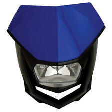 Polisport Halo H4 Headlight YZ Blue Motorcycle Yamaha Universal Head Light