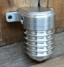 FINNED ALUMINUM FUEL FILTER HOT ROD STREET CUSTOM RAT PRO TOURING LOWRIDER GAS