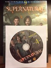 Supernatural - Season 9, Disc 4 REPLACEMENT DISC (not full season)