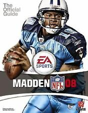 Madden NFL 08: Prima Official Game Guide (Prima Official Game Guides)-ExLibrary