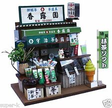 Doll House Handmade kit Japanese Retro Store [Japanese Tea Shop] Billy Japan