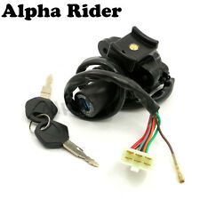 Ignition Switch Lock  KEY for KAWASAKI Ninja ZX6R ZZR600 ZZR400 ZX-6 ZX6 ZX9R