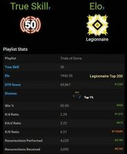 Destiny Trials Of Osiris Guaranteed Lighthouse Carry (XBOX ONE) Top 100
