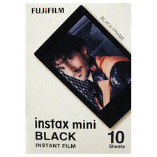 Fuji INSTAX mini / Polaroid 300 Black Frame Instant Film - Free UK Delivery