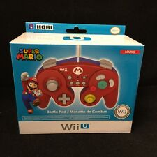 HORI Battle Pad for Wii U (Mario Version) with Turbo ( Nintendo Wii U )