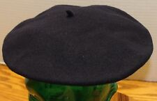 VINTAGE PHILADELPHIA RAPID TRANSIT BLUE BERET 100% WOOL CZECH REPUBLIC VGC
