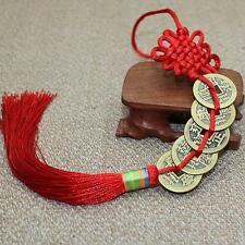 Feng Shui Chinese Coins Coin for good Luck PROSPERITY PROTECTION Charm Tassel D