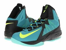 Nike Basketball Air Max Stutter Step2 Sneakers Catalina/Volt/Black Mens Size 11